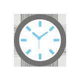 pontos idő
